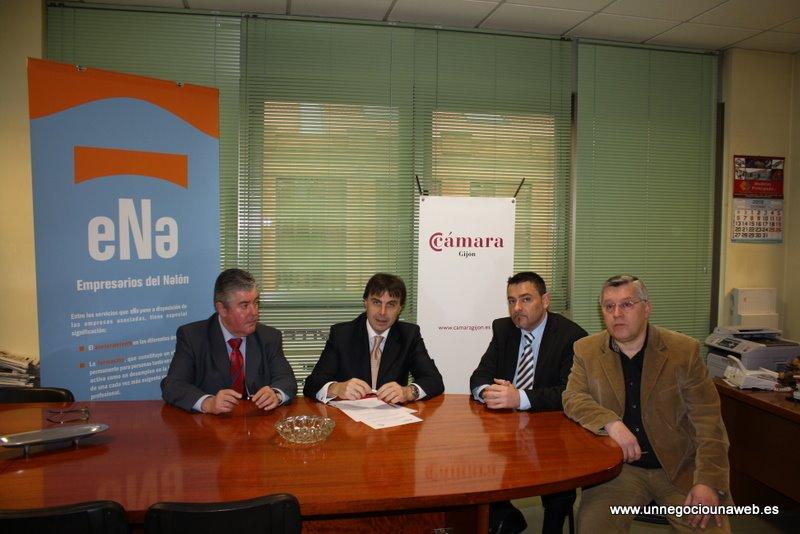 Adhesión de ENA - Asociación Empresarios del Nalón Para que ninguna empresa esté sin Web