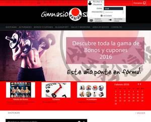 Web de Gimnasio Shotokan