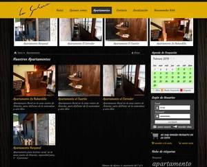 Web de La Galería Turismo Rural