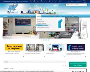 Web de Elefante Azul Pamplona