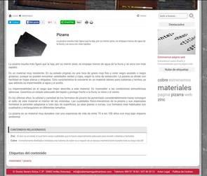 Web de Cubiertas Miguel Martinez