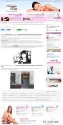 Visión de la web completa de Mercedes Patallo