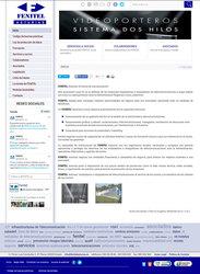 Visión de la web completa de Fenitel Asturias