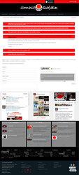 Visión de la web completa de Gimnasio Shotokan