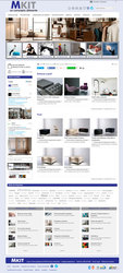 Visión de la web completa de Muebles Kit