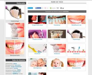 Web de Centro Técnico Dental