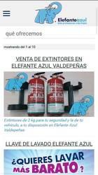 Versión móvil de Elefante Azul Valdepeñas