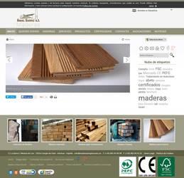 Visión de la web completa de Maderas Ángel Suárez S.L.