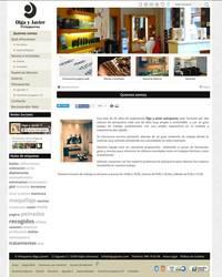 Web completa de Olga y Javier Peluqueros