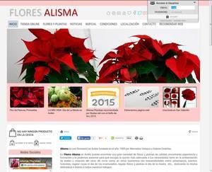 Web de Flores Alisma