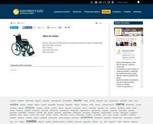 Web de Mayores y más Servicios Sociales