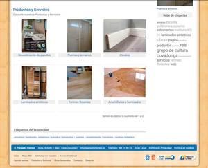 Web de Parquets Ferrero S.L.