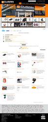 Visión de la web completa de Cusan Suministros Industriales
