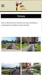 Versión móvil de web de Sidrería Casa Toni