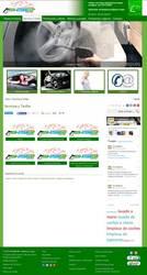 Visión de la web completa de Eco-SteamCar Limpieza a Vapor