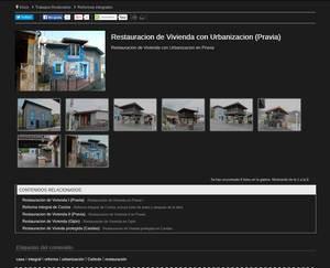 Web de Construcciones Rio Aranguin