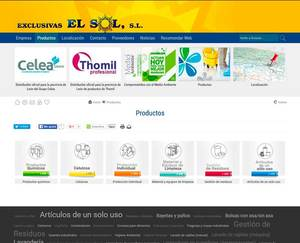 Web de Exclusivas el sol