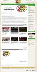 Visión de la web completa de AEBass