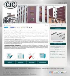 Visión de la web completa de Cerramientos Campoamor