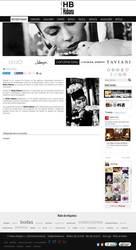 Visión de la web completa de Moda Habana
