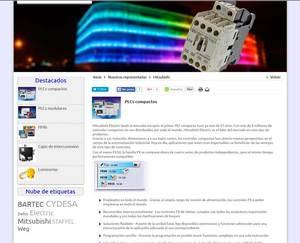 Web de Tisel Suministros Eléctricos
