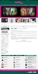 Visión de la web completa de Nenufar Moda