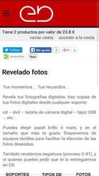 Versión móvil de Web de Estebuste Digital