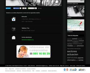 Web de Prias Proyectos Industriales S.L.