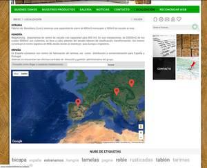 Web de Maderas del este