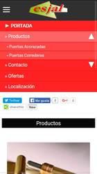 Visión de la web completa de Estampaciones Laviana Bouzón S.L.