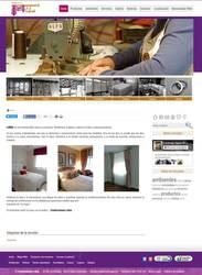 Visión de la web completa de Confecciones Libra