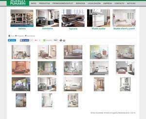 Web de Muebles Pumarin