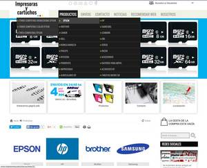Web de Impresoras y cartuchos