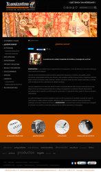 Visión de la web completa de Alfombras Konstantino