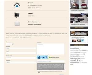 Web de Anobium Restauración