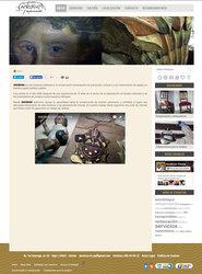 Visión de la web completa de Anobium Restauración