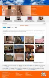 Visión de la web completa de Construcciones JM
