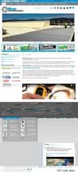 Visión de la web completa de Baz Distribuciones