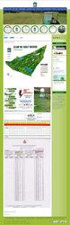 Visión de la web completa de Golf Bierzo