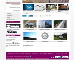 Web de Desarrollos metálicos Asturias