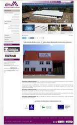Visión de la web completa de Desarrollos metálicos Asturias