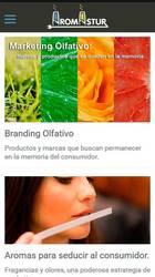 Versión móvil de Web de Aromastur