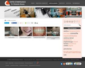 Web de Clinica Dental Clemente Alvarez