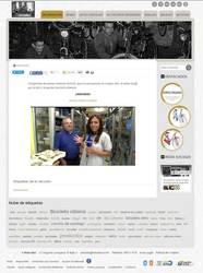 Visión de la web completa de RetroBici