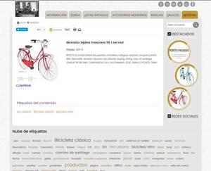 Web de RetroBici