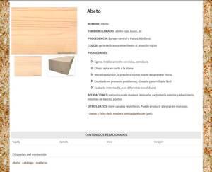 Web de Carpintería Proaza