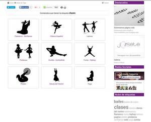 Web de Escuela de Baile Josete Salgarcía