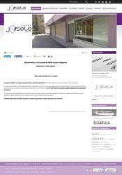 Visión de la web completa de Escuela de Baile Josete Salgarcía