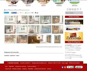 Web de Muebles Navalón