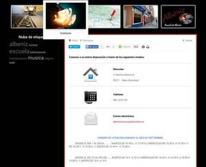 Web de Albéniz Escuela de Música